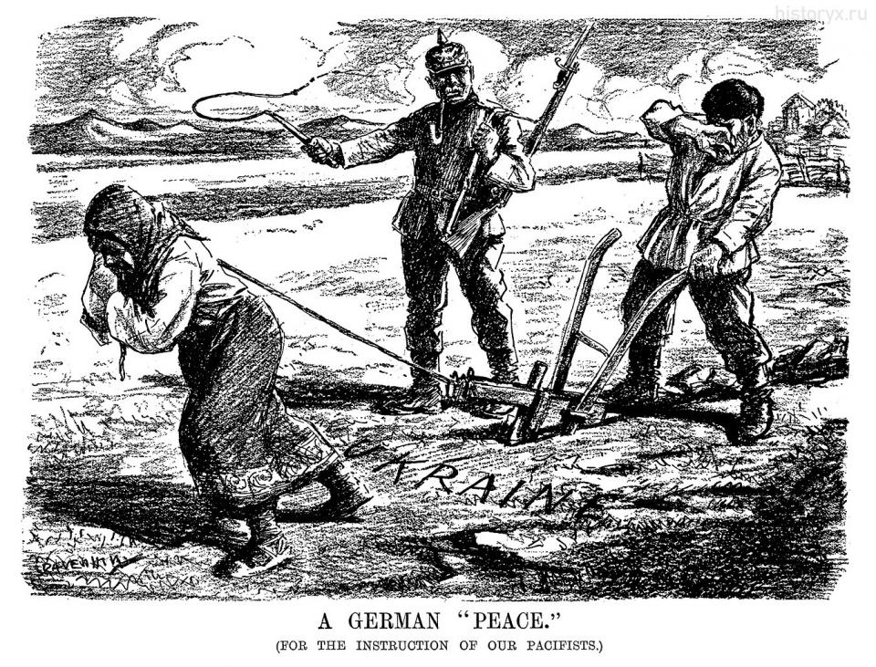 "A GERMAN ""PEACE."" June 12, 1918"