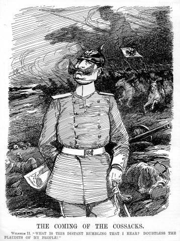 Явление казаков (The Coming of the Cossacks) 26 августа 1914