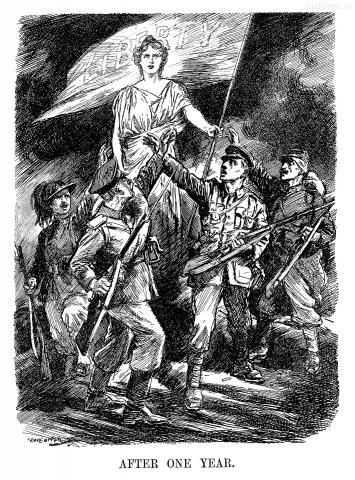 Свобода. После одного года (Liberty. After One Year) 11 августа 1915