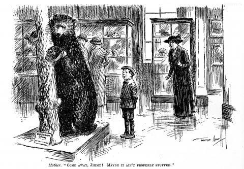 4 октября 1916. Русский медведь — не трогать (Russian bear - Do not touch)