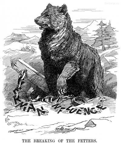 Разрушение оков (The braking of the fetters) 21 марта 1917