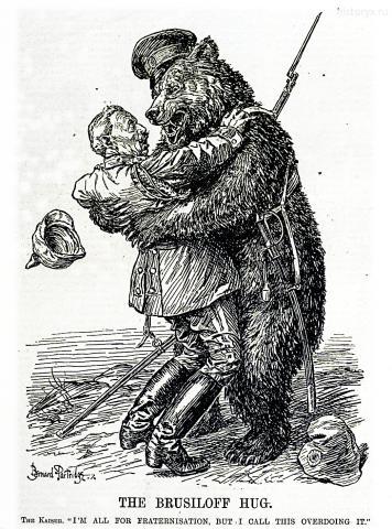 Брусиловские объятия (The Brusiloff Hug) 11 июля 1917