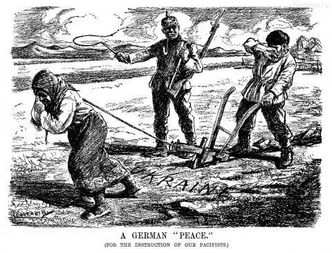 "A GERMAN ""PEACE."" June 12, 1918"